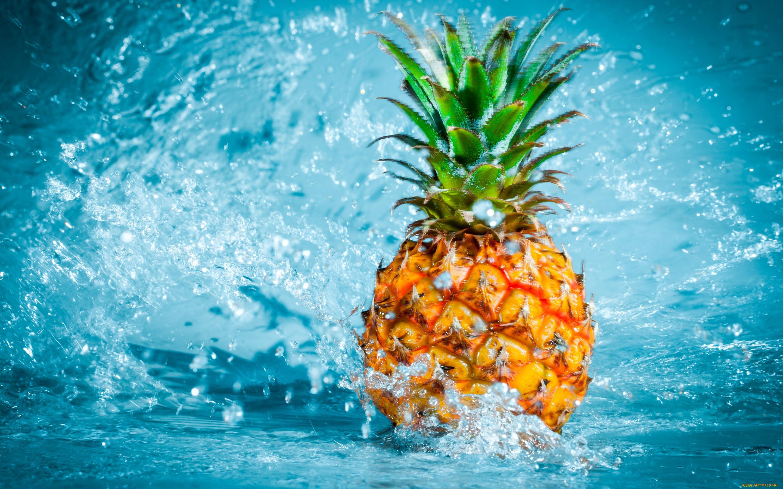 яркие летние картинки ананас кольца